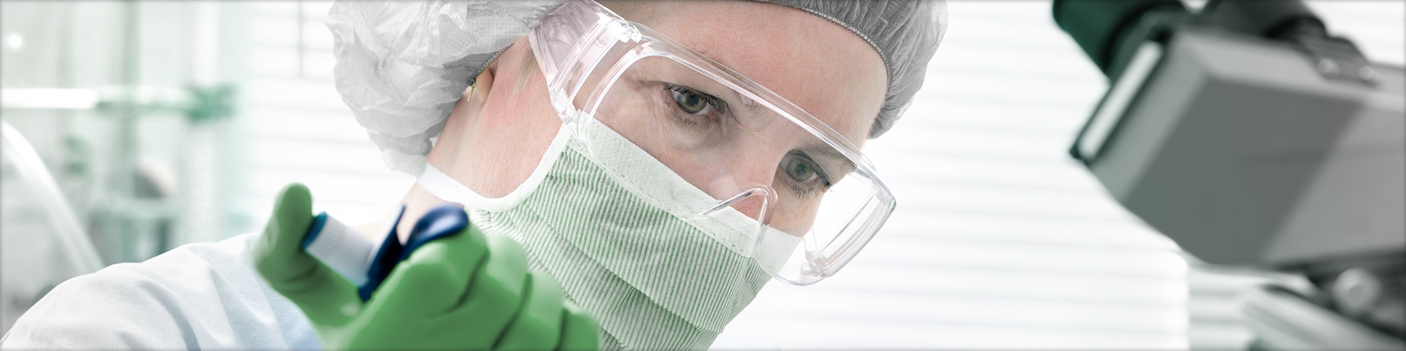 Scientist Wearing PPE